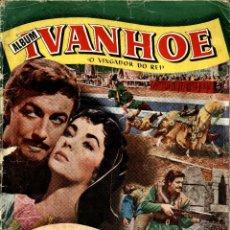 Collezionismo Álbum: IVANHOE (CLIPER, 1953) ALBUM DE 156 CROMOS. COMPLETO.. Lote 203910578