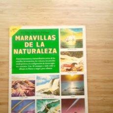 Coleccionismo Álbum: MARAVILLAS DE LA NATARULEZA - NOVARO SA - UN LIBRO DE ORO DE ESTAMPAS - ALBUM DE CROMOS COMPLETO. Lote 203929773