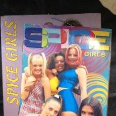 Coleccionismo Álbum: SPICE GIRLS - ALBUM COMPLETO Y CARPETA LLENA DE RECORTES DE REVISTAS. Lote 203929820