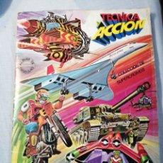 Coleccionismo Álbum: TÉCNICA Y ACCIÓN COMPLETO. Lote 203938306