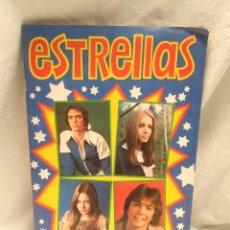Coleccionismo Álbum: ALBUM ESTRELLAS COMPLETO AÑO 1974 EDICIONES ESTE, BUEN ESTADO. Lote 203960617