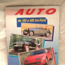Coleccionismo Álbum: ALBUM AUTO DE 100 A 400 KM/H COMPLETO DE PANINI, BUEN ESTADO. Lote 203960643