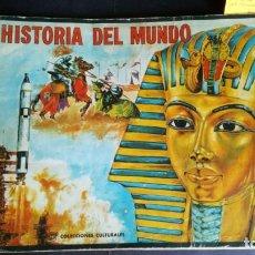 Coleccionismo Álbum: HISTORIA DEL MUNDO - ALBUM CROMOS COMPLETO (COLECCIONES CULTURALES). Lote 203991627