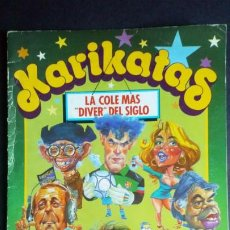 Coleccionismo Álbum: KARIKATAS. Lote 203991847