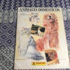 Coleccionismo Álbum: 12. ANIMALES DOMESTICOS ÁLBUM COMPLETO. Lote 204067072