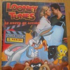 Coleccionismo Álbum: ALBUM DE CROMOS LOONEY TUNES PANINI - COMPLETO CON POSTER 2003 CROMO. Lote 204188027