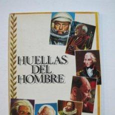 Coleccionismo Álbum: HUELLAS DEL HOMBRE-ALBUM COMPLETO-EDITORIAL FERMA-VER FOTOS-(V-20.030). Lote 204325487