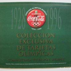 Coleccionismo Álbum: COCA COLA-COLECCION EXCLUSIVA DE TARJETAS OLIMPICAS-ALBUM COMPLETO-VER FOTOS-(V-20.049). Lote 204347441