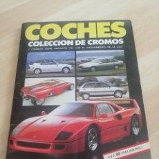 Coleccionismo Álbum: ALBUM COCHES MOTOR 16 CUSCO.. COMPLETO... Lote 204403866