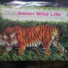 Coleccionismo Álbum: ÁLBUM ASIAN WILD LIFE. Lote 204425600