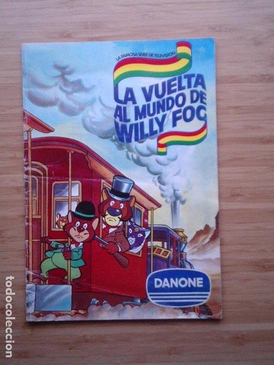 LA VUELTA AL MUNDO DE WILLY FOC - DANONE - 1.983 - ALBUM COMPLETO - BUEN ESTDO - GORBAUD (Coleccionismo - Cromos y Álbumes - Álbumes Completos)