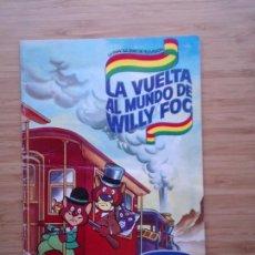 Coleccionismo Álbum: LA VUELTA AL MUNDO DE WILLY FOC - DANONE - 1.983 - ALBUM COMPLETO - BUEN ESTDO - GORBAUD. Lote 204703503