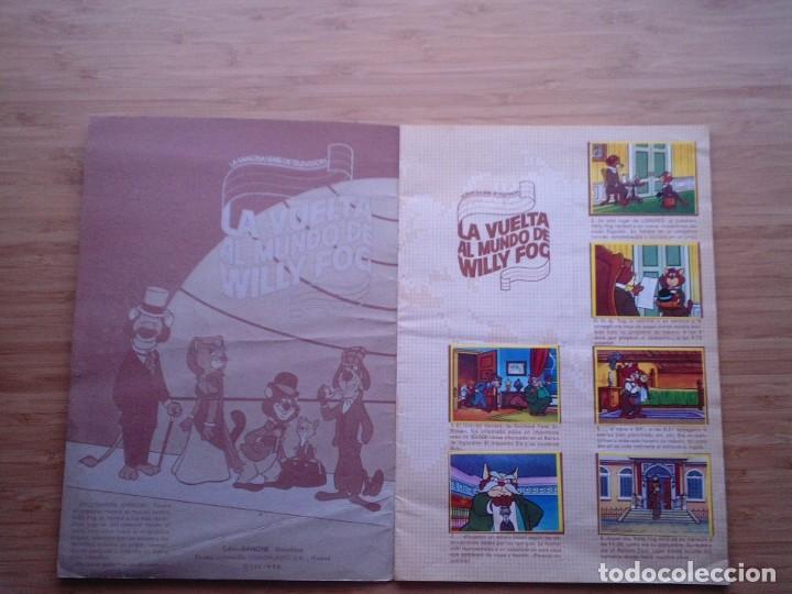 Coleccionismo Álbum: LA VUELTA AL MUNDO DE WILLY FOC - DANONE - 1.983 - ALBUM COMPLETO - BUEN ESTDO - GORBAUD - Foto 2 - 204703503