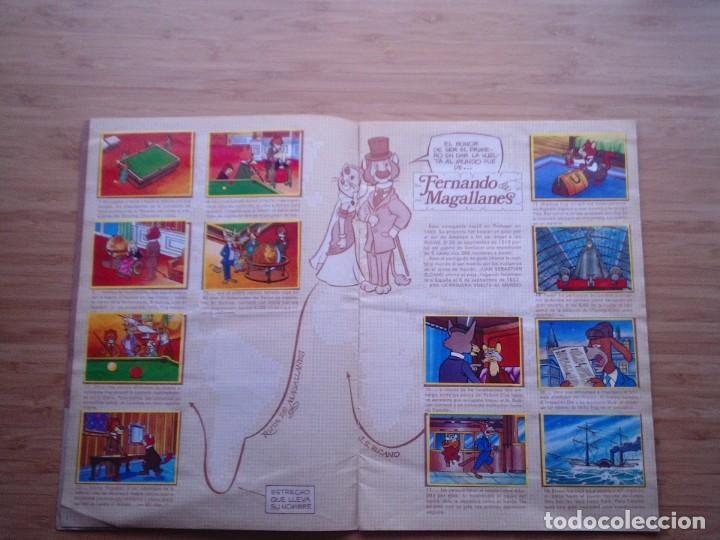 Coleccionismo Álbum: LA VUELTA AL MUNDO DE WILLY FOC - DANONE - 1.983 - ALBUM COMPLETO - BUEN ESTDO - GORBAUD - Foto 3 - 204703503