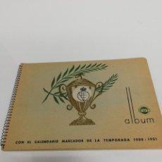 Coleccionismo Álbum: ALBUM FUT. RARO. IV CAMPEONATO DE FÚTBOL 1950.51.Y SELECCIÓN ESPAÑOLA.. Lote 204804933