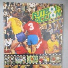 Coleccionismo Álbum: ALBUM COMPLETO DE CROMOS / FUTBOL EN ACCION 82 / DANONE. Lote 204812026