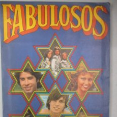Coleccionismo Álbum: ALBUM COMPLETO DE CROMOS / FABULOSOS / ED.RUIZ ROMERO. Lote 204812356