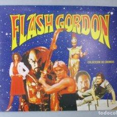 Coleccionismo Álbum: ALBUM COMPLETO DE CROMOS / FLASH GORDON / EGC 1980 / MUY BUEN ESTADO. Lote 204812796