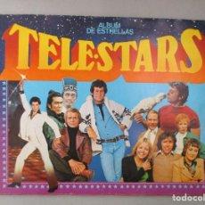 Coleccionismo Álbum: ALBUM COMPLETO DE CROMOS / TELE STARS / ALBUM DE ESTRELLAS / 209 CROMOS. Lote 204813790