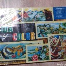 Coleccionismo Álbum: ALBUM VIDA Y COLOR. Lote 204830260