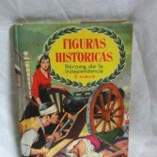Coleccionismo Álbum: FIGURAS HISTORICAS ALBUM II, CHOCOLATES OLLER, AÑO 58. COMPLETO. Lote 205020950