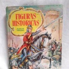 Coleccionismo Álbum: FIGURAS HISTORICAS ALBUM III CHOCOLATES OLLER, AÑO 60. COMPLETO. Lote 205021030