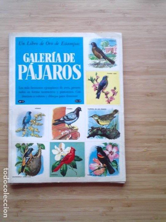 GALERIA DE PAJAROS - LIBRO DE ORO DE ESTAMPAS - NUMERO 2 - COMPLETO - BUEN ESTADO - NOVARO - GORBAUD (Coleccionismo - Cromos y Álbumes - Álbumes Completos)