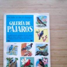 Coleccionismo Álbum: GALERIA DE PAJAROS - LIBRO DE ORO DE ESTAMPAS - NUMERO 2 - COMPLETO - BUEN ESTADO - NOVARO - GORBAUD. Lote 205047378