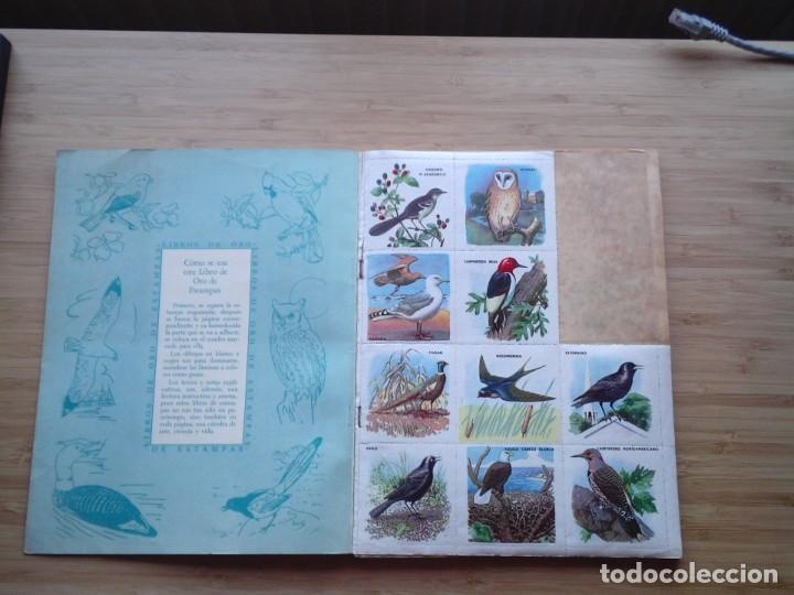 Coleccionismo Álbum: GALERIA DE PAJAROS - LIBRO DE ORO DE ESTAMPAS - NUMERO 2 - COMPLETO - BUEN ESTADO - NOVARO - GORBAUD - Foto 2 - 205047378
