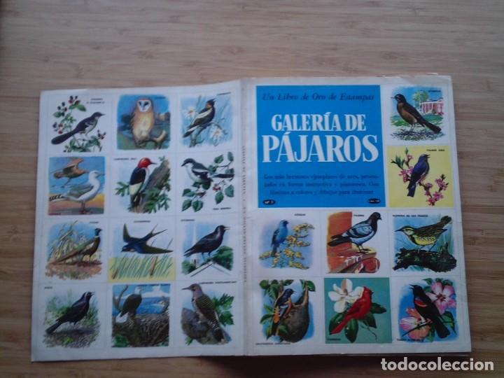 Coleccionismo Álbum: GALERIA DE PAJAROS - LIBRO DE ORO DE ESTAMPAS - NUMERO 2 - COMPLETO - BUEN ESTADO - NOVARO - GORBAUD - Foto 30 - 205047378