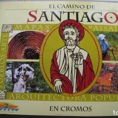 Coleccionismo Álbum: ALBUN DE CROMOS COMPLETO EL CAMINO DE SANTIAGO 178 CROMOS. Lote 205095036