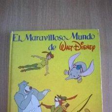 Coleccionismo Álbum: ÁLBUM CROMOS EL MARAVILLOSO MUNDO DE WALT DISNEY CLUD INTERNACIONAL DEL LIBRO COMPLETO. Lote 205159055