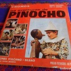Coleccionismo Álbum: LAS AVENTURAS DE PINOCHO COMPLETO 360 CROMOS. VULCANO PANINI 1972. CORRECTO ESTADO.. Lote 205242640