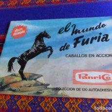 Coleccionismo Álbum: EL MUNDO DE FURIA CABALLOS EN ACCIÓN COMPLETO 120 CROMOS. PANRICO 1973. FOTOS DE TODO.. Lote 205243371