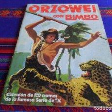 Coleccionismo Álbum: FOTO DE TODO EL ÁLBUM, ORZOWEI COMPLETO 120 CROMOS. BIMBO 1978. BUEN ESTADO.. Lote 205260198