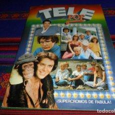 Coleccionismo Álbum: FOTO DE TODO, TELE POP VERSIÓN DALLAS DIFÍCIL COMPLETO. ESTE 1980. RARO EN MUY BUEN ESTADO.. Lote 205263878