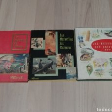 Coleccionismo Álbum: COLECCION LAS MARAVILLAS DEL UNIVERSO COMPLETA 74 SERIES 3 ALBUMES NESTLE. Lote 205309703