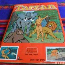 Coleccionismo Álbum: MUY BUEN ESTADO, DE LA SERIE DE TV TARZAN COMPLETO 270 CROMOS PANRICO FHER 1979. DIFÍCIL.. Lote 205324956