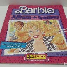 Coleccionismo Álbum: ALBUM BARBIE . REALIZADO POR PANINI . COMPLETO . AÑOS 80. Lote 205557301