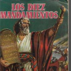 Coleccionismo Álbum: LOS DIEZ MANDAMIENTOS. ÁLBUM DE LA PELÍCULA COMPLETO 210 DE 1959 TODOS LOS CROMOS EN PERFECTO ESTADO. Lote 205586181