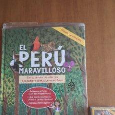 Coleccionismo Álbum: ÁLBUM EL PERÚ MARAVILLOSO CON TODOS LOS CROMOS COMPLETOS SIN PEGAR. Lote 205599546