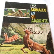 Coleccionismo Álbum: LOS ANIMALES EN SU AMBIENTE -COMPLETO. Lote 205652356