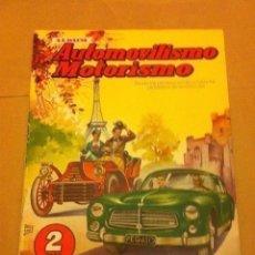 Coleccionismo Álbum: AUTOMOVILISMO- COMPLETO- MUY BUENA CONSERVACIÓN. Lote 205654315