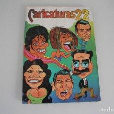 Coleccionismo Álbum: ALBUM CARICATURAS 22 COMPLETO. Lote 205733898