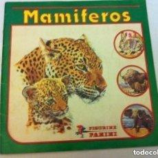 Coleccionismo Álbum: MAMÍFEROS - COMPLETO (PANINI) - 240 CROMOS- MUY BIEN CONSERVADO. Lote 205765631