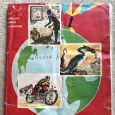Coleccionismo Álbum: RARO ÁLBUM CONOZCAMOS EL MUNDO - EDITORIAL FHER - AÑO 1964 - COMPLETO. Lote 205826005