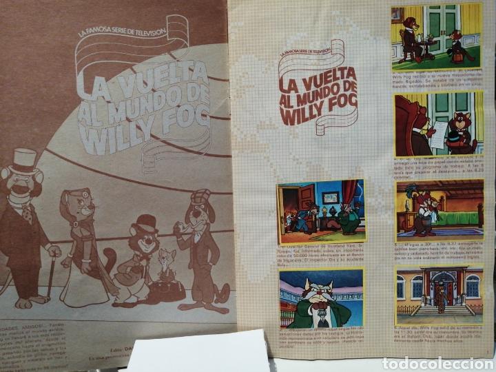 Coleccionismo Álbum: Album de cromos Completo LA VUELTA AL MUNDO DE WILLY FOG. DANONE - Foto 2 - 206233086