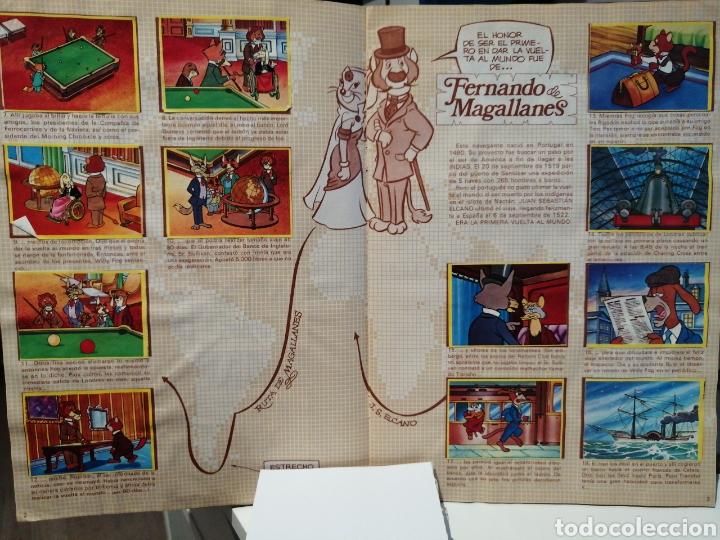 Coleccionismo Álbum: Album de cromos Completo LA VUELTA AL MUNDO DE WILLY FOG. DANONE - Foto 3 - 206233086