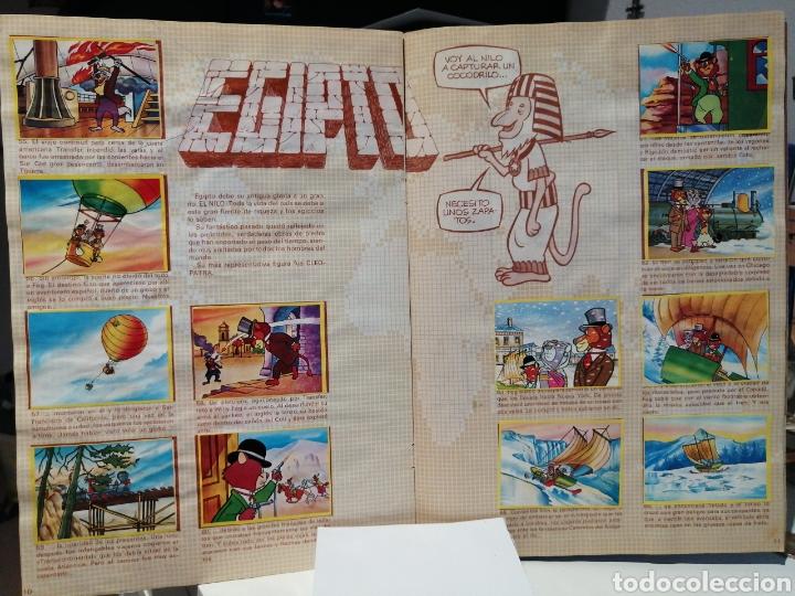 Coleccionismo Álbum: Album de cromos Completo LA VUELTA AL MUNDO DE WILLY FOG. DANONE - Foto 7 - 206233086
