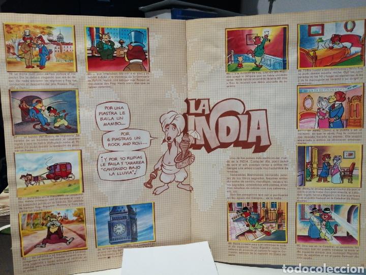 Coleccionismo Álbum: Album de cromos Completo LA VUELTA AL MUNDO DE WILLY FOG. DANONE - Foto 10 - 206233086